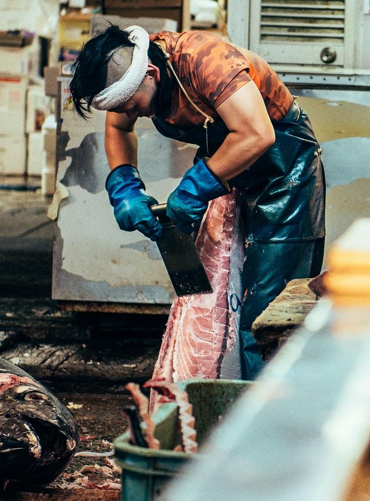 рыбный рынок в Японии-7