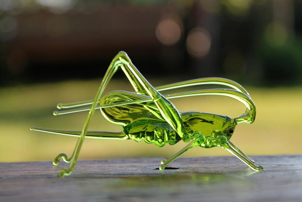 сувениры из стекла, флора и фауна, животные-4