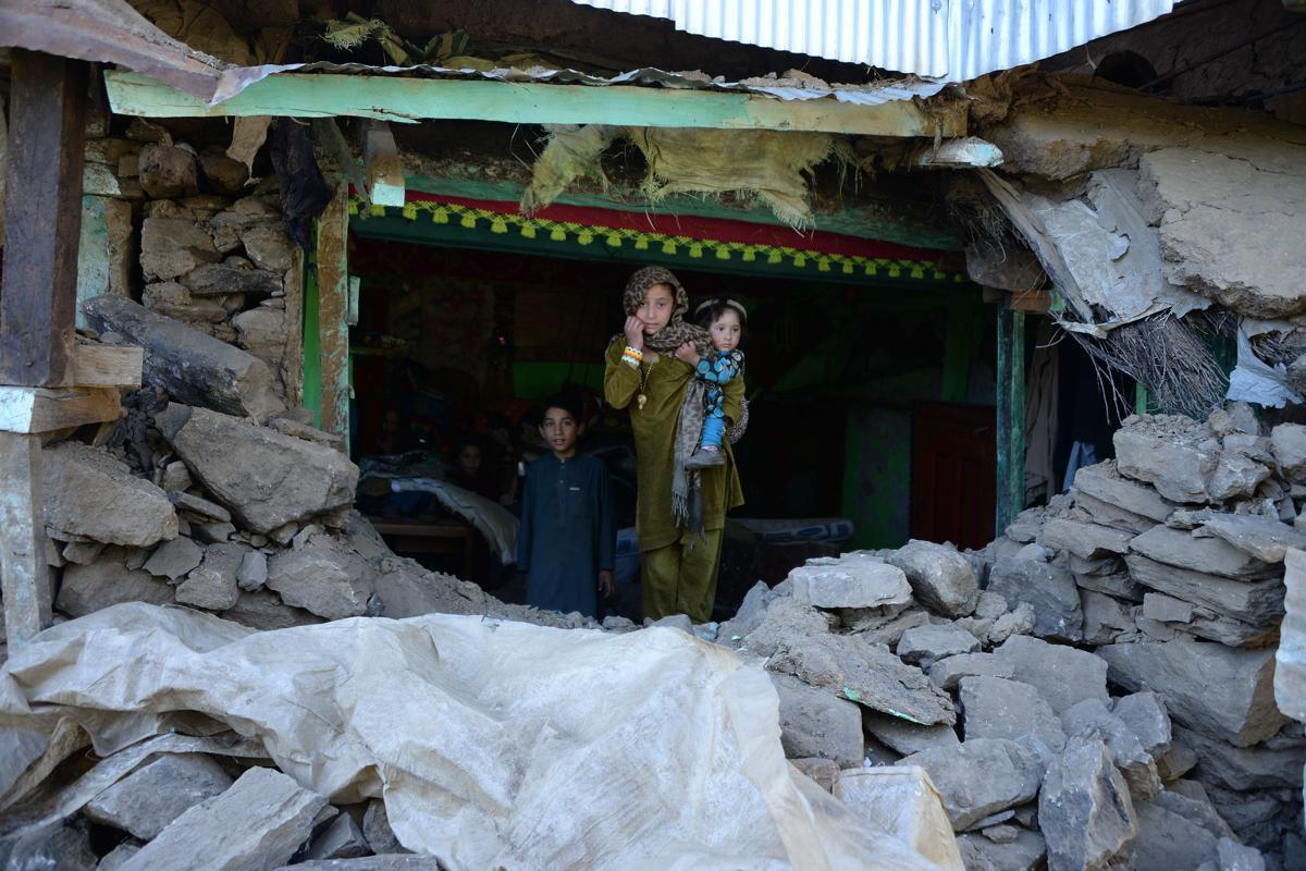 землетрясение, Афганистан, Пакситан-1