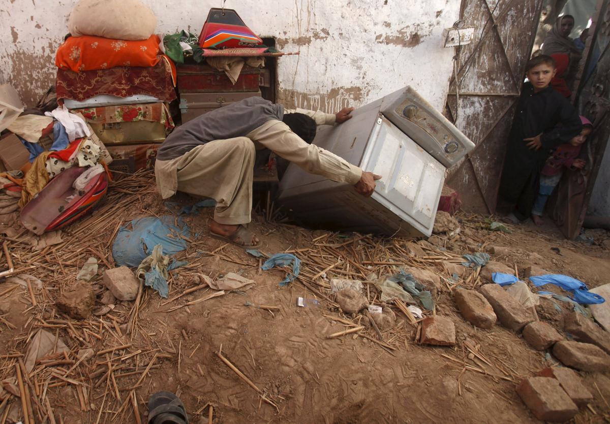 землетрясение, Афганистан, Пакситан-13