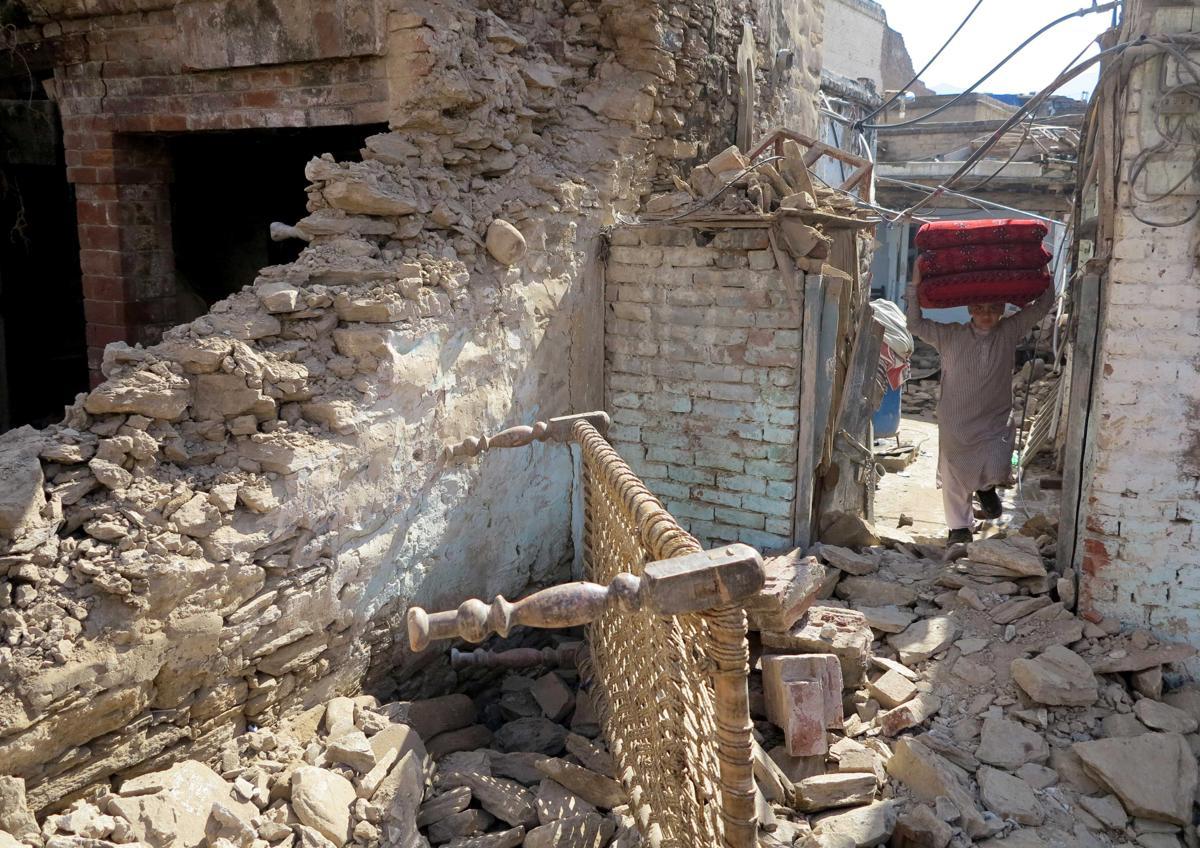 землетрясение, Афганистан, Пакситан-16