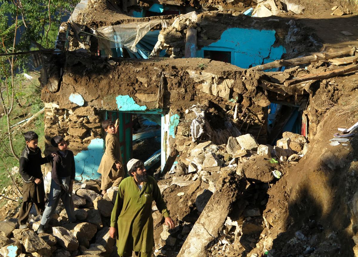 землетрясение, Афганистан, Пакситан-18