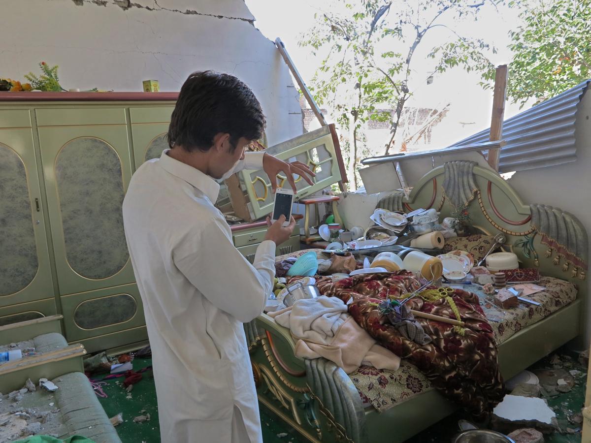 землетрясение, Афганистан, Пакситан-22