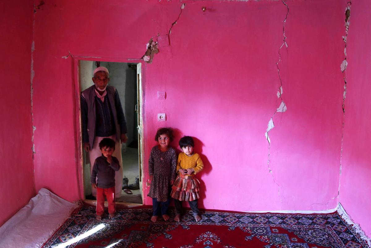 землетрясение, Афганистан, Пакситан-25