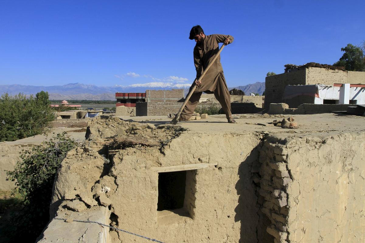 землетрясение, Афганистан, Пакситан-26