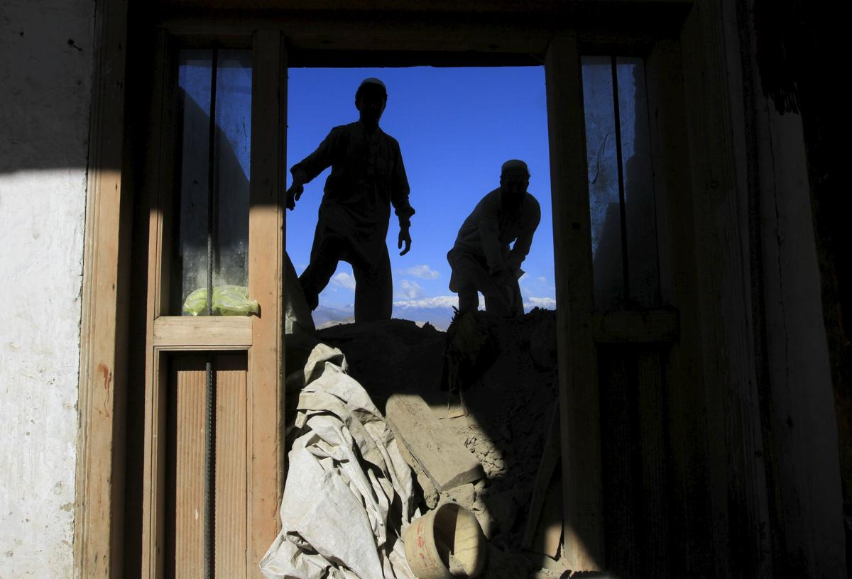 землетрясение, Афганистан, Пакситан-3