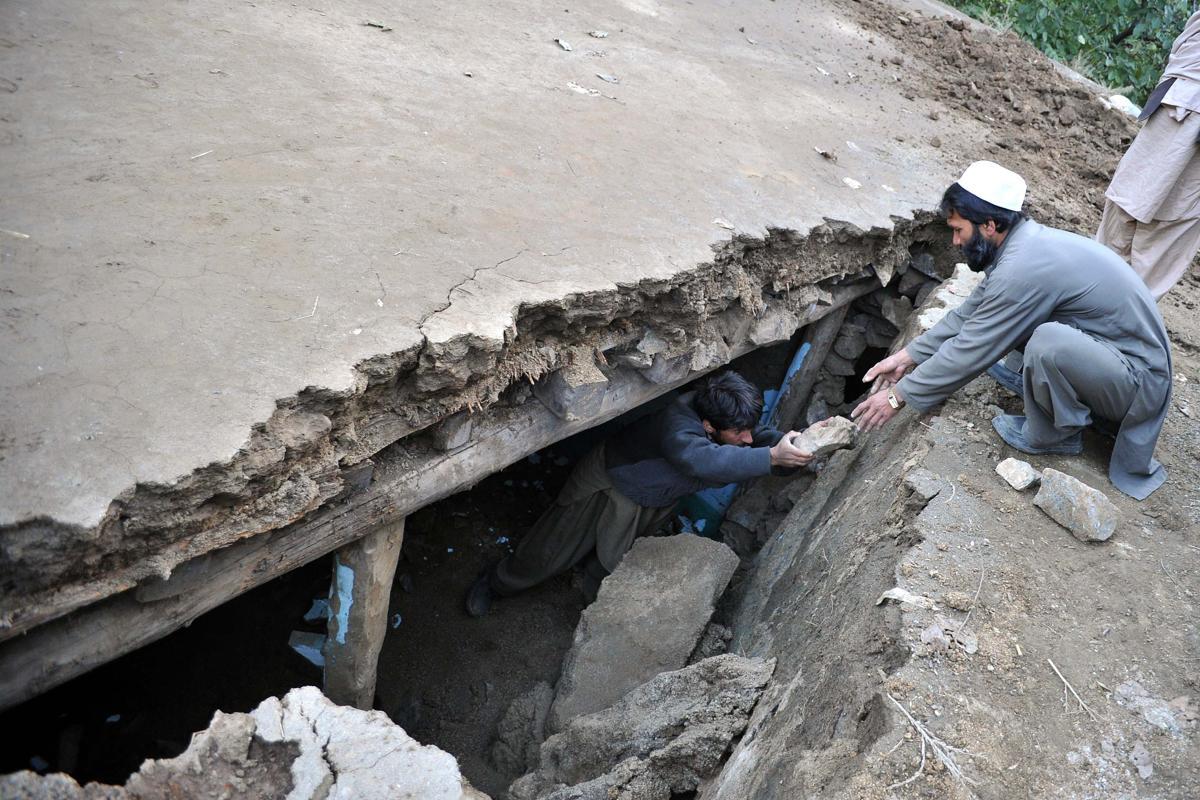 землетрясение, Афганистан, Пакситан-5