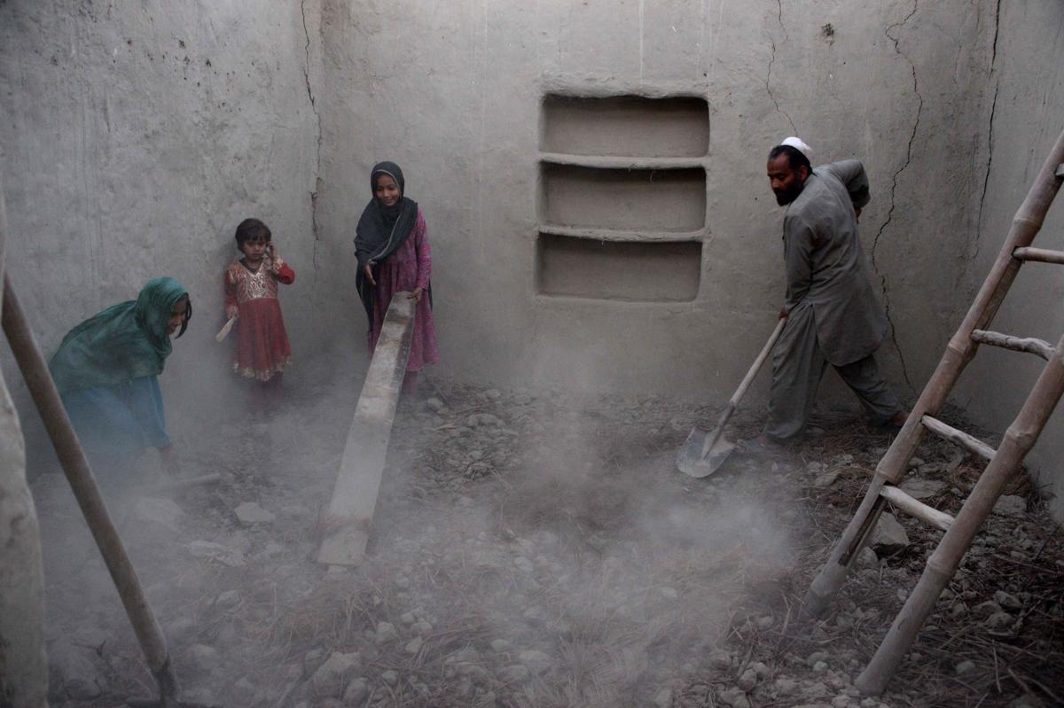 землетрясение, Афганистан, Пакситан-7