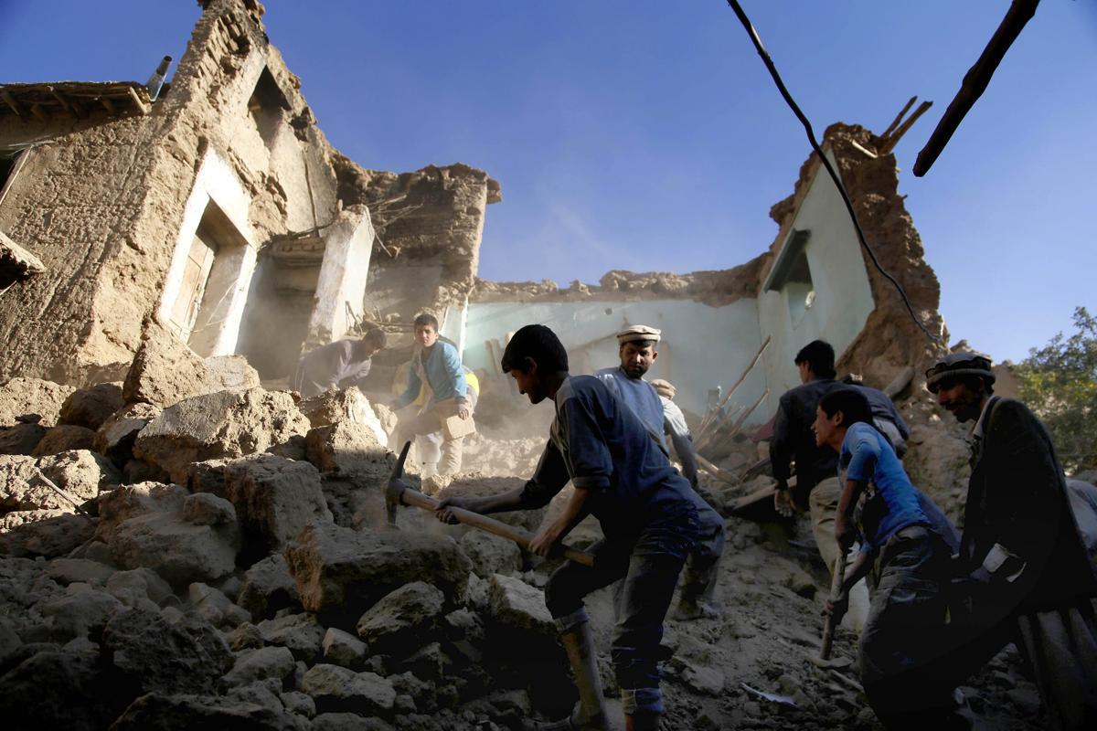 землетрясение, Афганистан, Пакситан-8