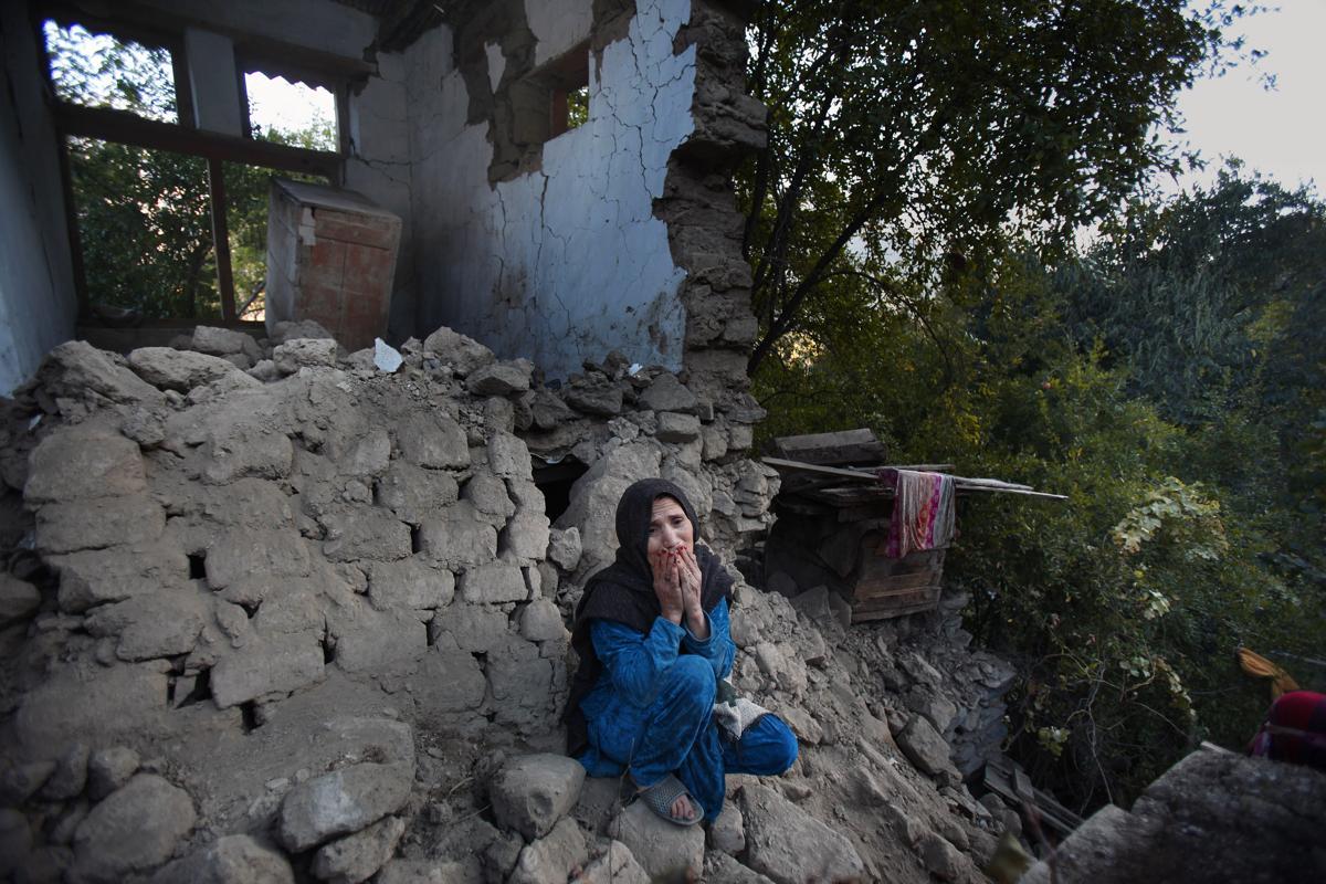 землетрясение, Афганистан, Пакситан-9