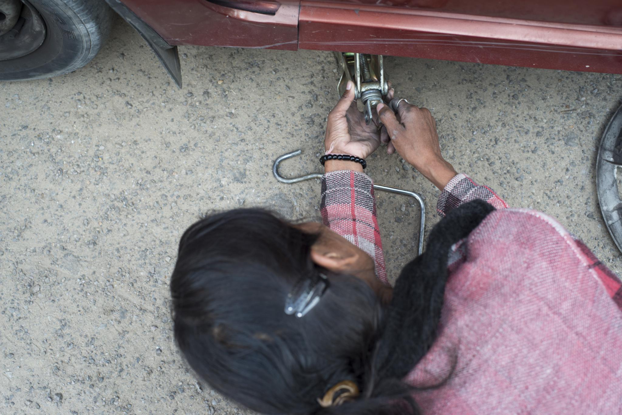 женщина-водитель в Индии-5
