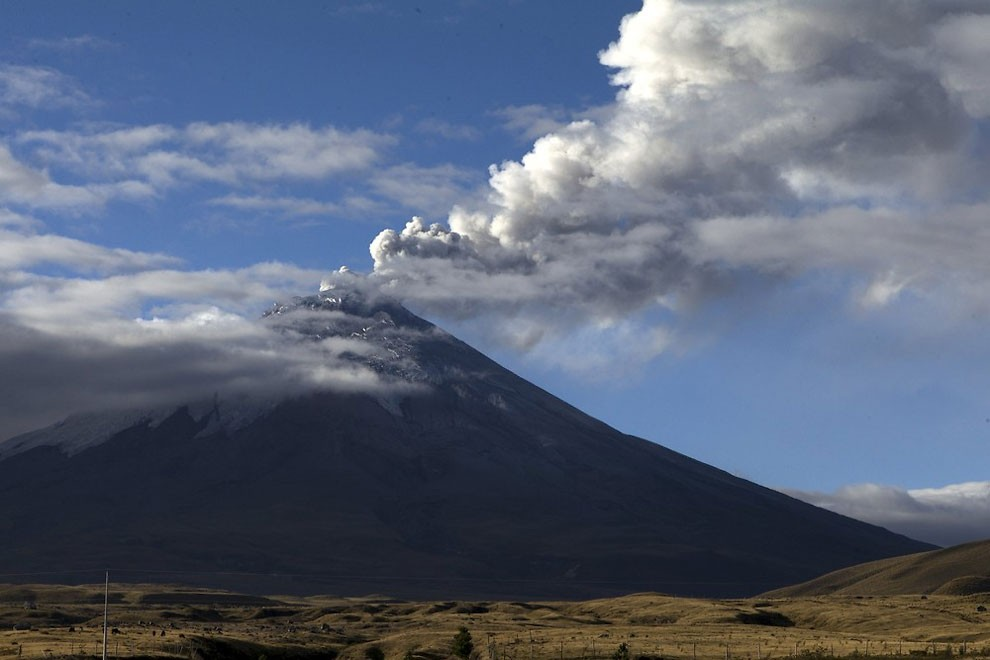 жизнь у подножия вулкана , извержение-13