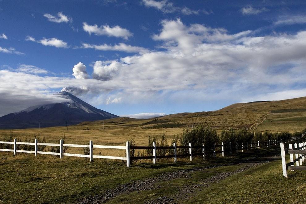 жизнь у подножия вулкана , извержение-3