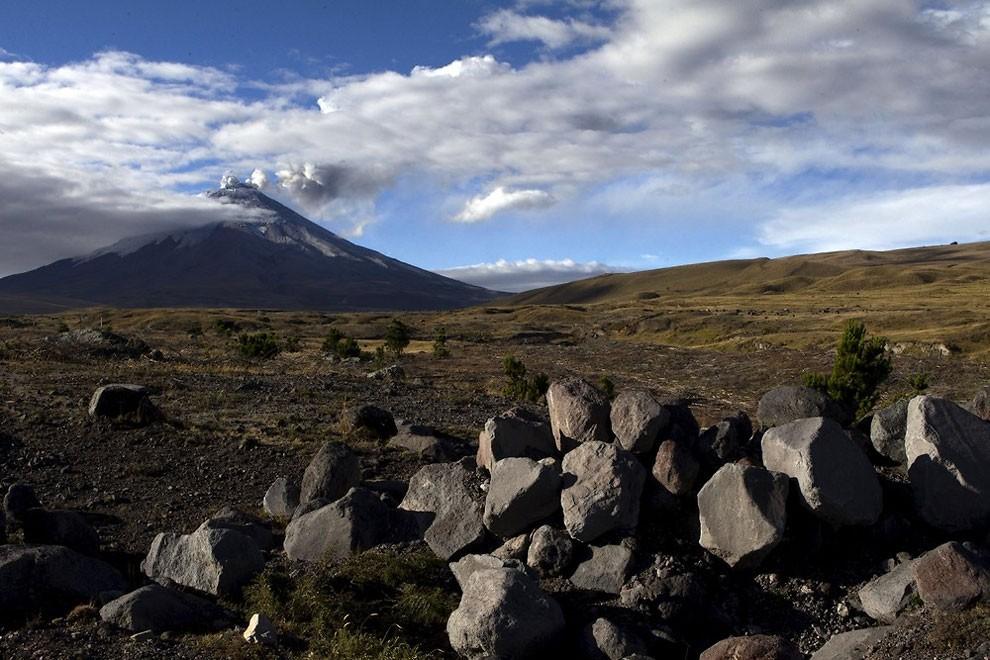 жизнь у подножия вулкана , извержение-5