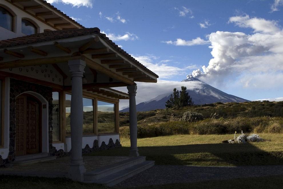 жизнь у подножия вулкана , извержение-9