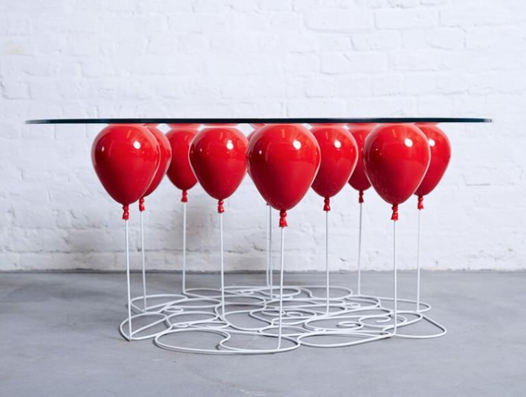 Как сделать чтобы шары висели в воздухе