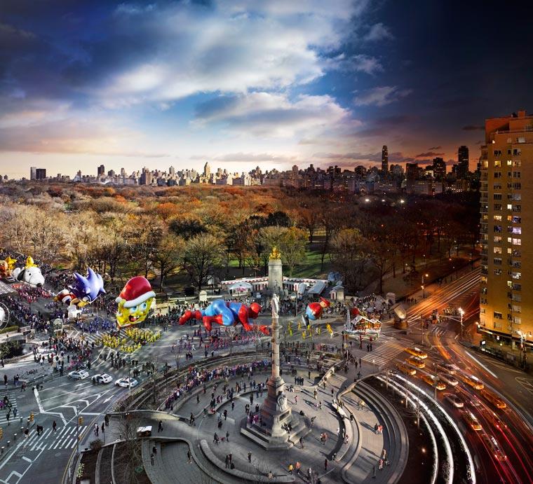 день и ночь, портреты городов-12