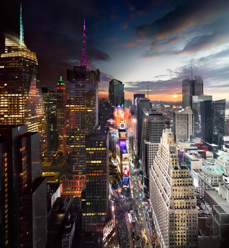 день и ночь, портреты городов-9