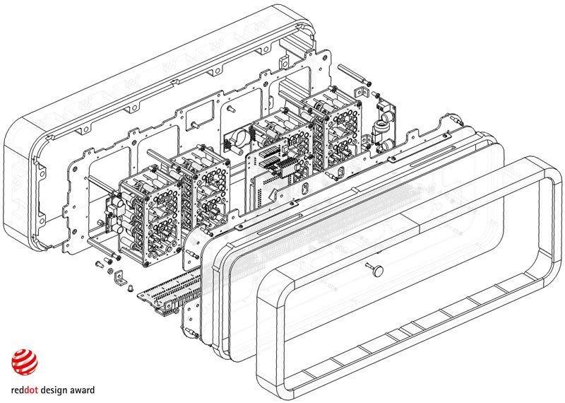 электро-механические часы с жидкокристаллическим дисплеем-2