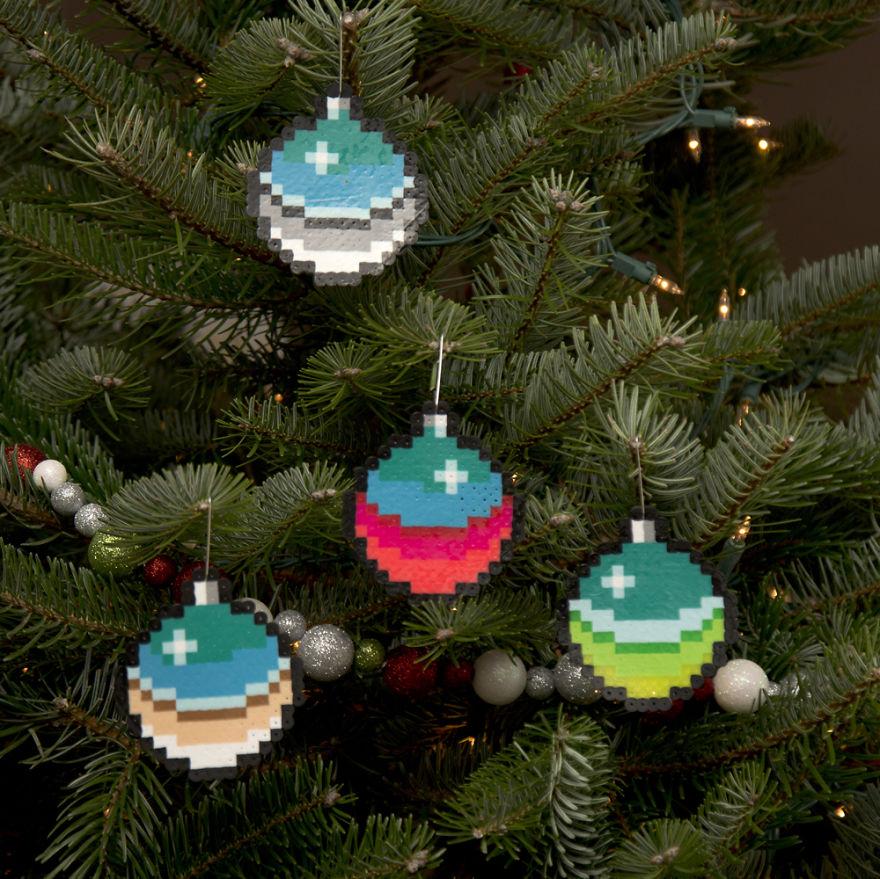 елочные украшения, новогодние украшения-1