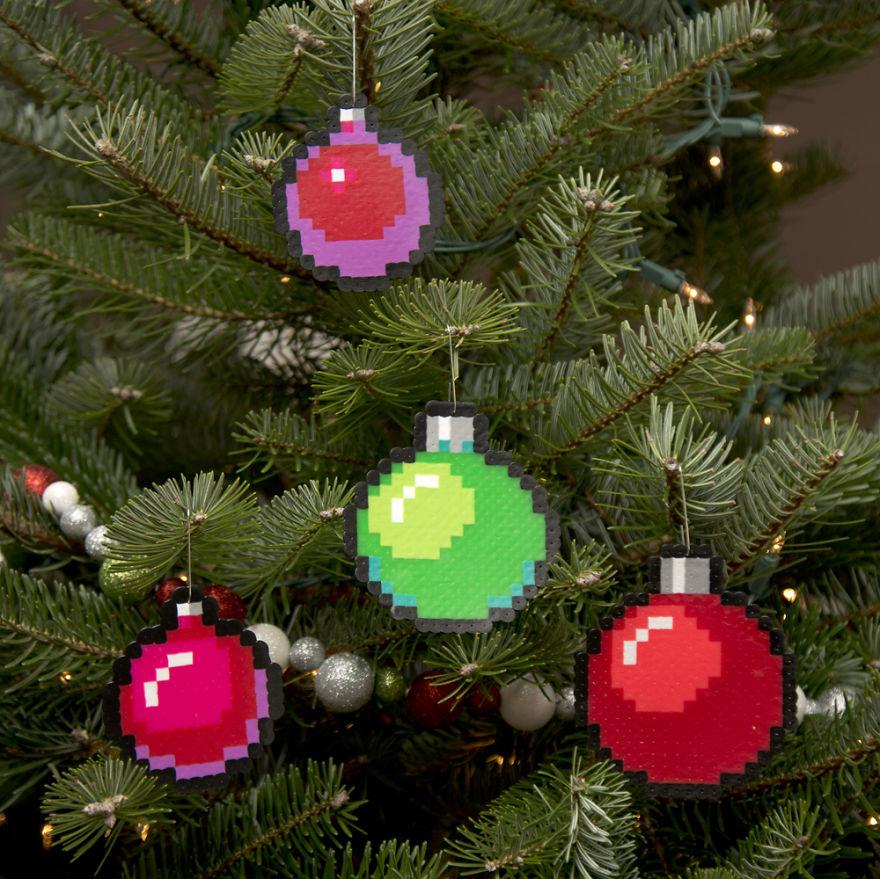 елочные украшения, новогодние украшения-3