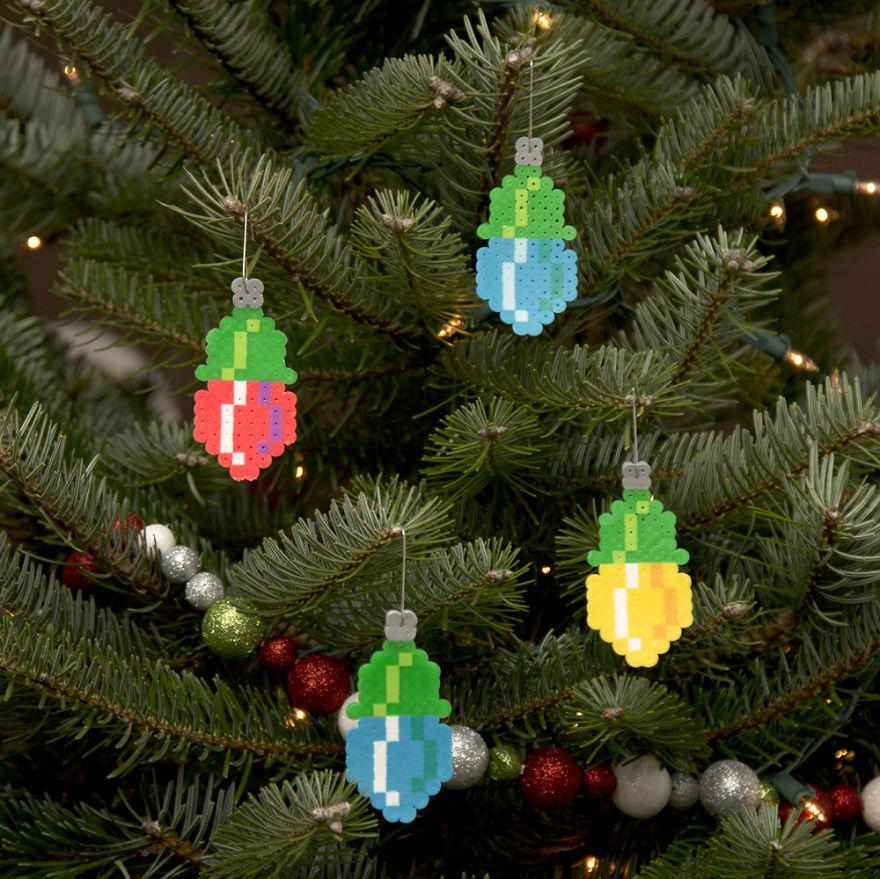 елочные украшения, новогодние украшения-5