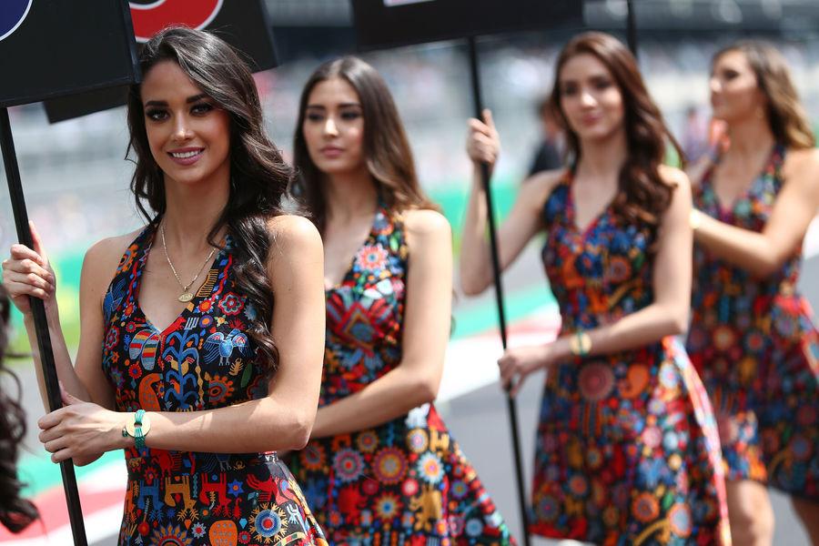 формула 1, девушки, гран при Мексики 2015-24