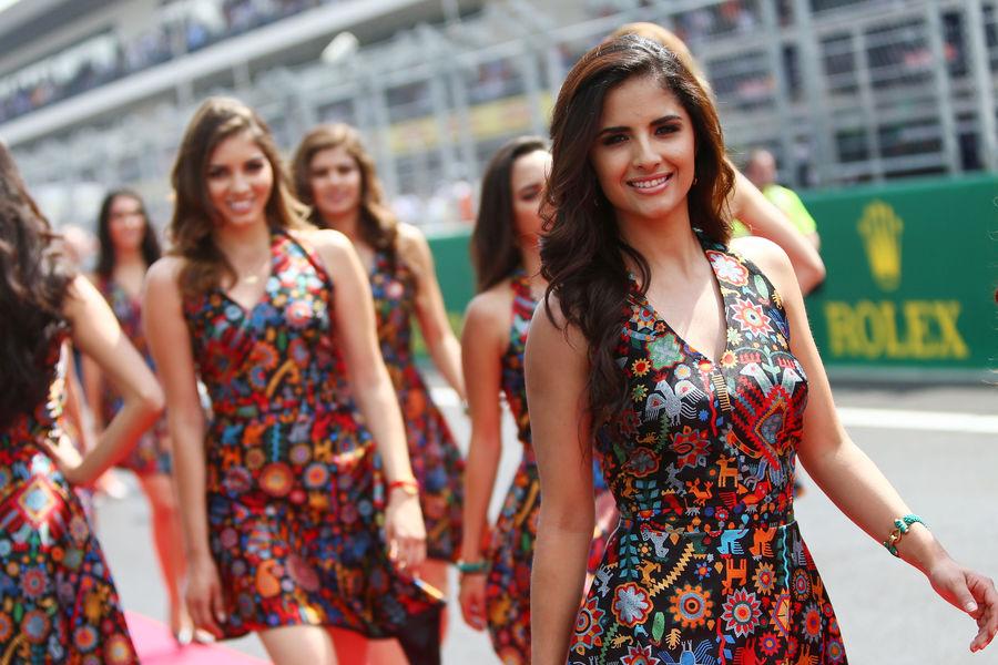 формула 1, девушки, гран при Мексики 2015-7