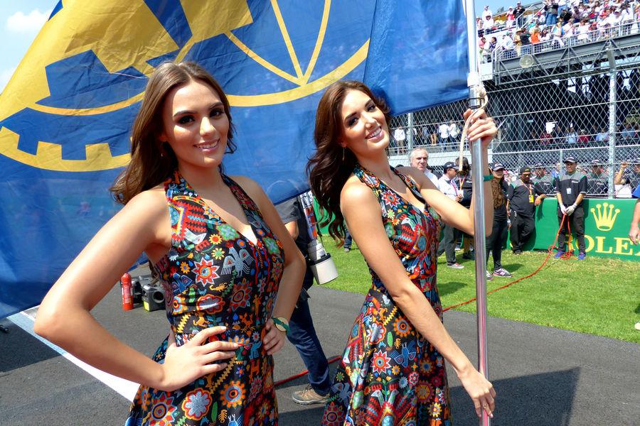 формула 1, девушки, гран при Мексики 2015-8