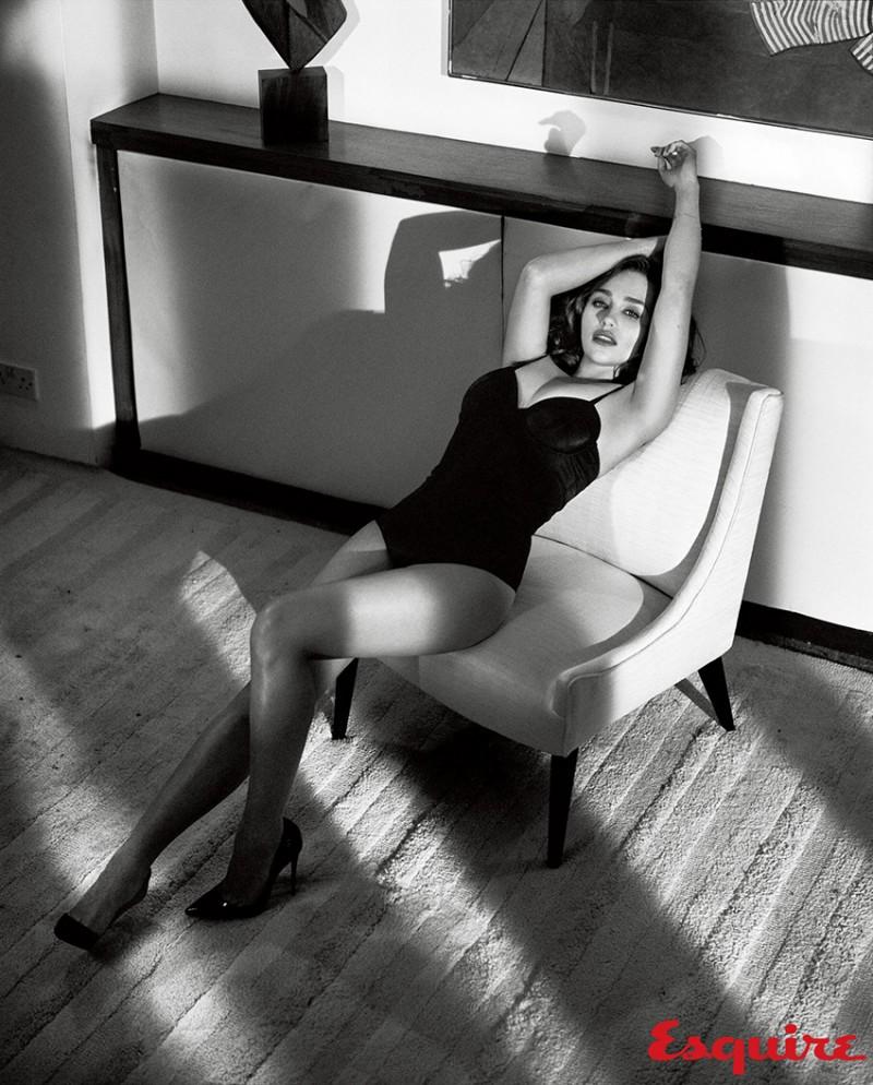 фото Эмилии Кларк, Игра престолов, журнал Эсквайр, Esquire10