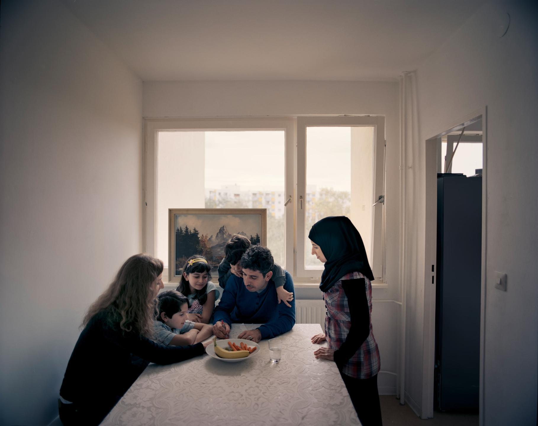 фотографии беженцев в Европе, сирийцы, афганцы-10