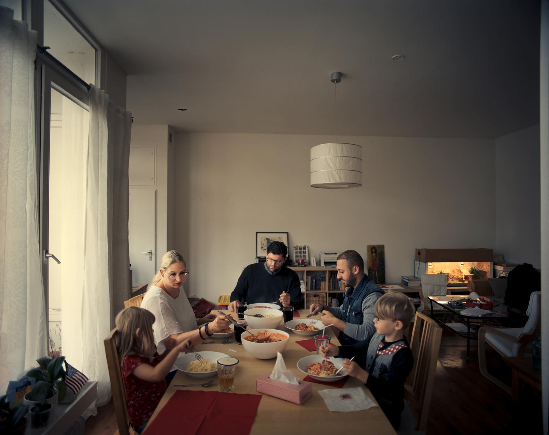 фотографии беженцев в Европе, сирийцы, афганцы-7