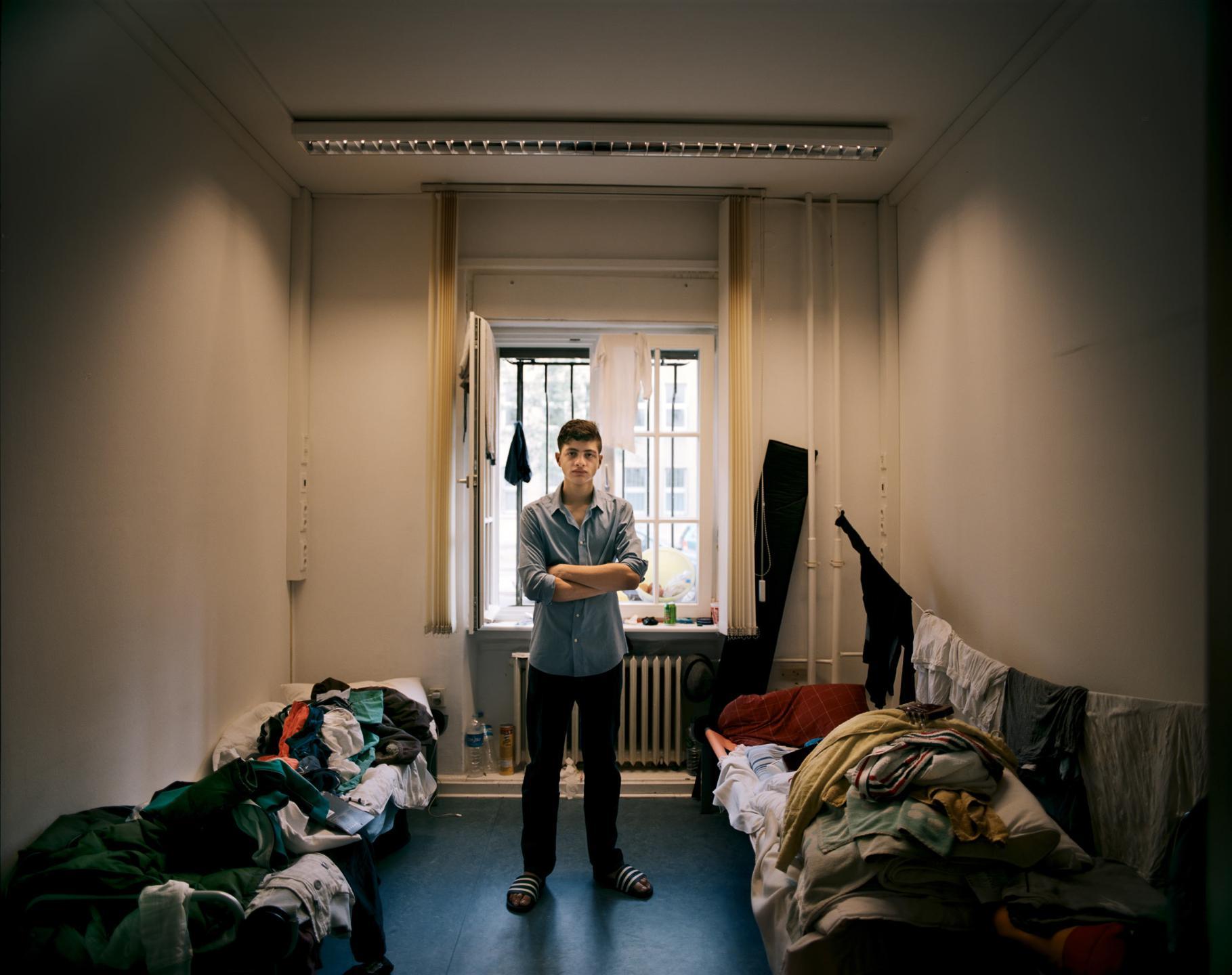 фотографии беженцев в Европе, сирийцы, афганцы-8