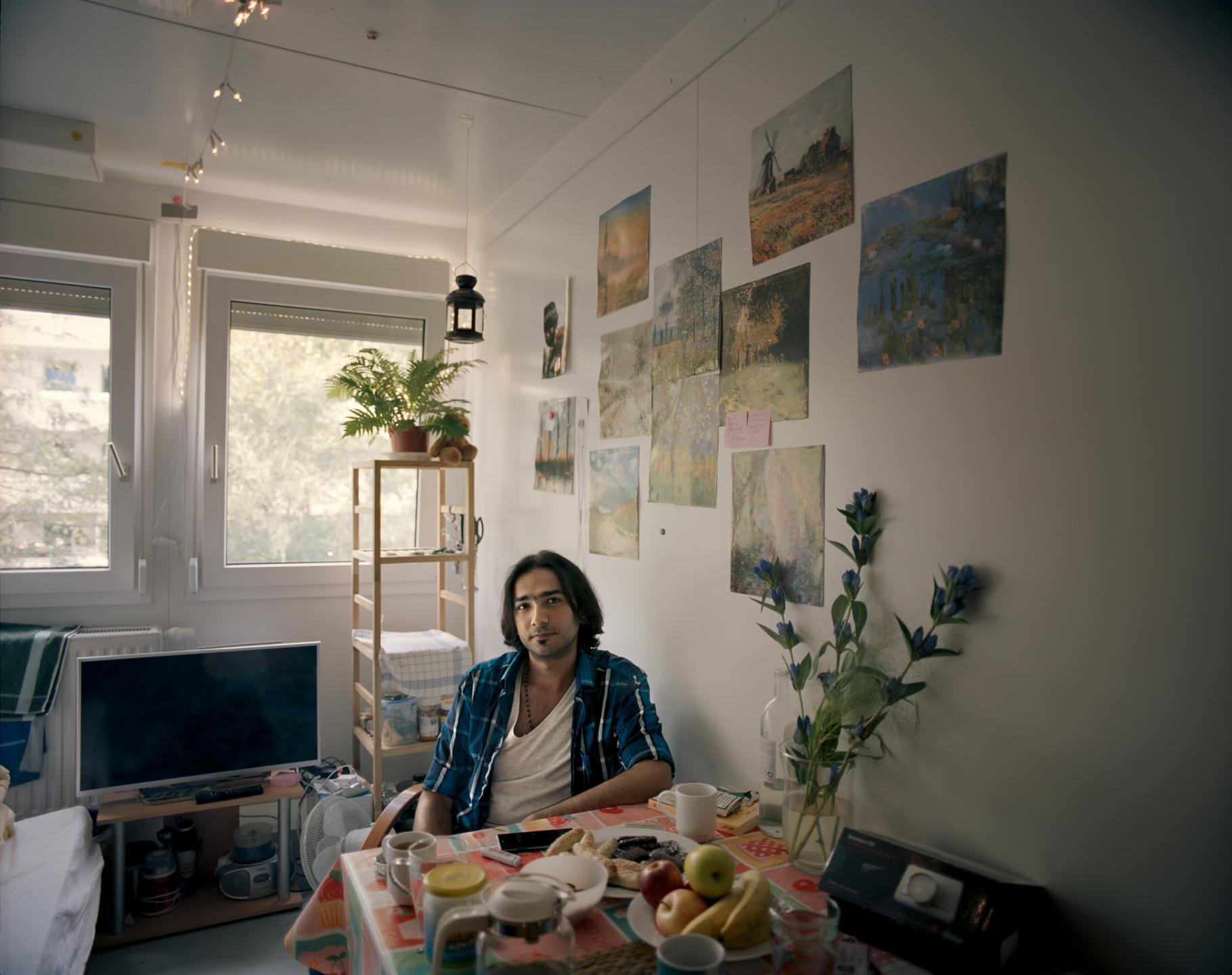 фотографии беженцев в Европе, сирийцы, афганцы-9