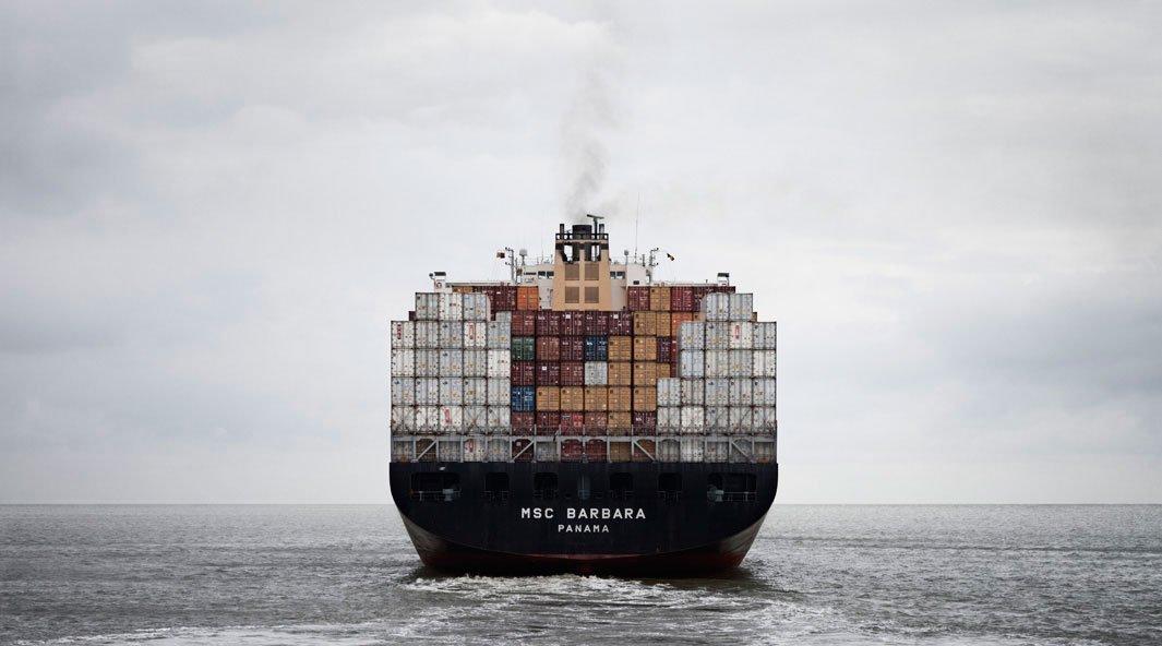 грузовой корабль, сухогруз, судно, фото, океан, море-1