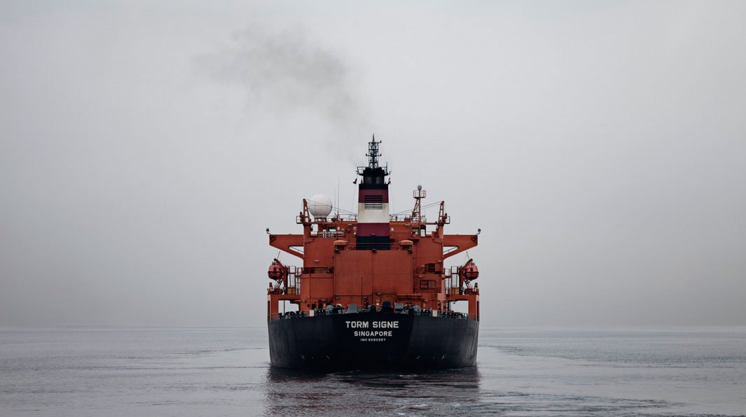 грузовой корабль, сухогруз, судно, фото, океан, море-2