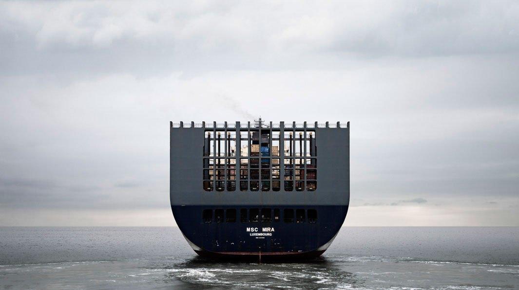 грузовой корабль, сухогруз, судно, фото, океан, море-3