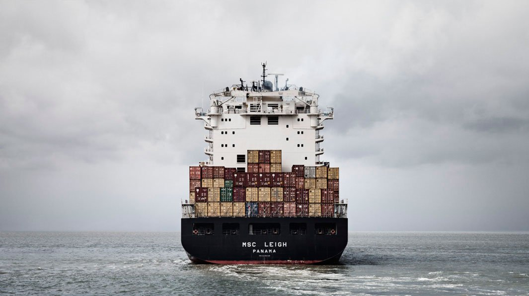 грузовой корабль, сухогруз, судно, фото, океан, море-5