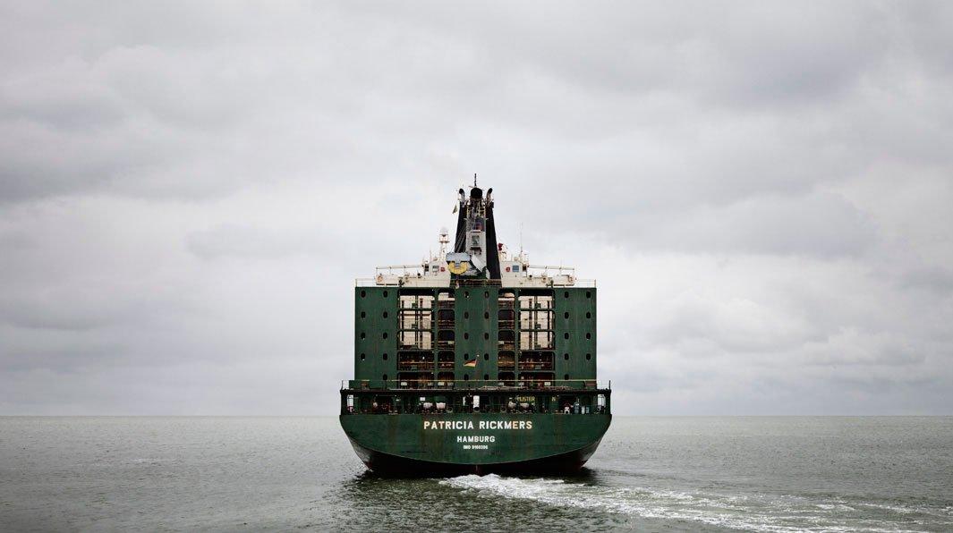 грузовой корабль, сухогруз, судно, фото, океан, море-7