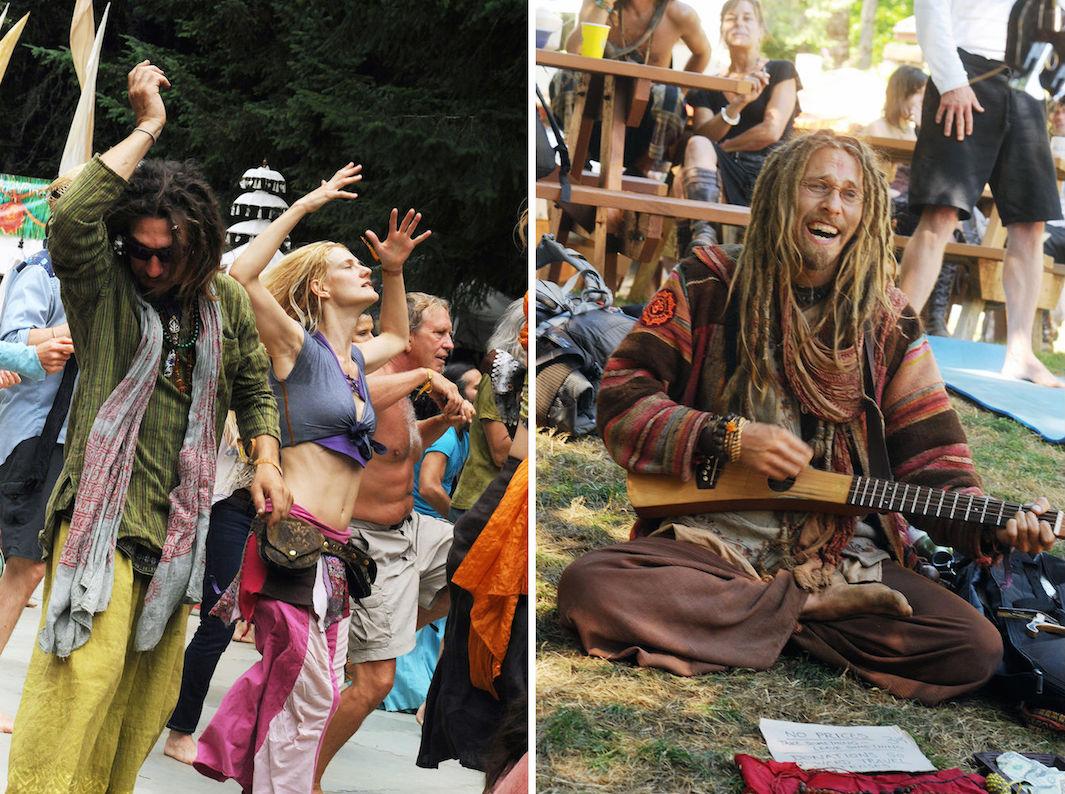 хиппи 21 века, медитация, наркотики, танцы-8