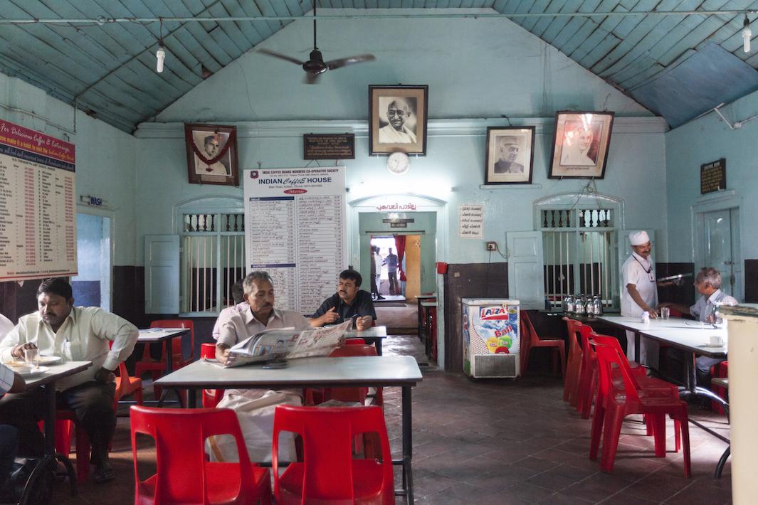 индийские кофейни, фото, Дели-1