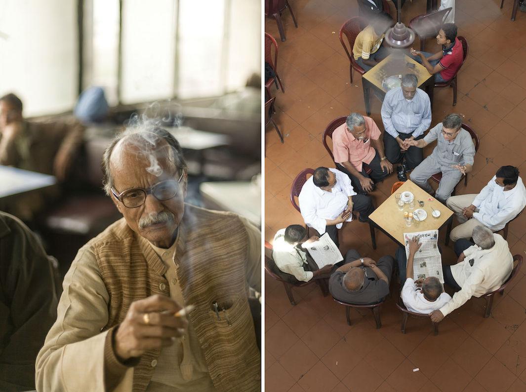 индийские кофейни, фото, Дели-3