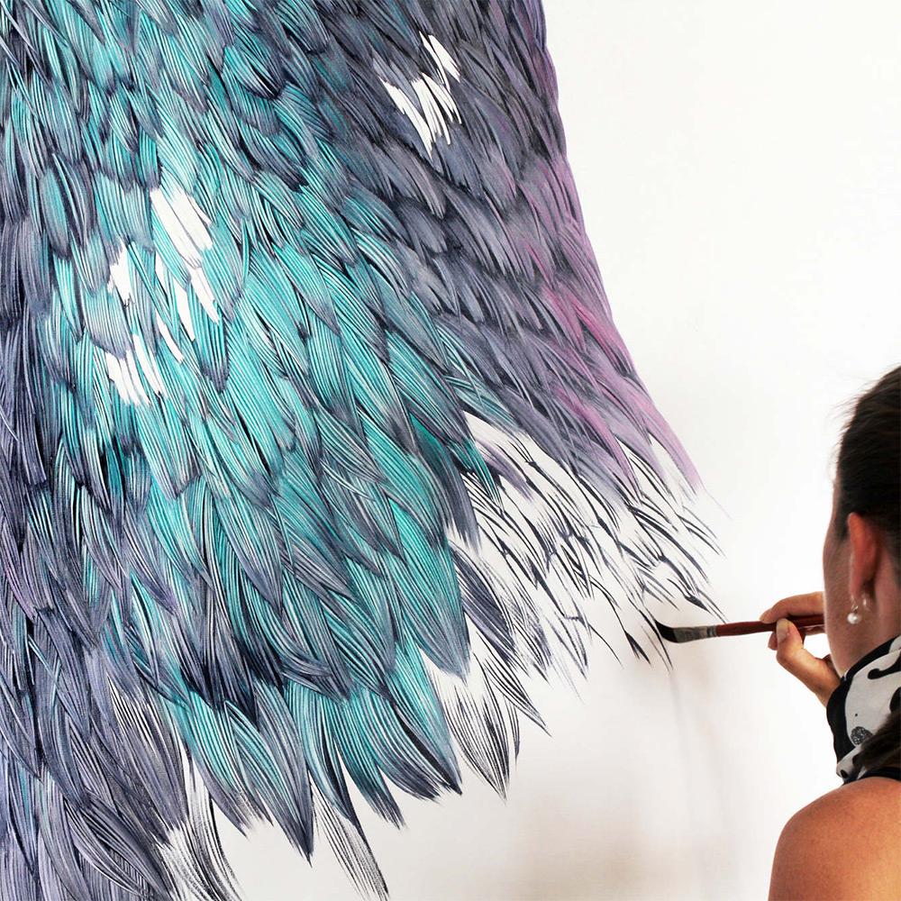 картины голубей, фото, рисунки-3