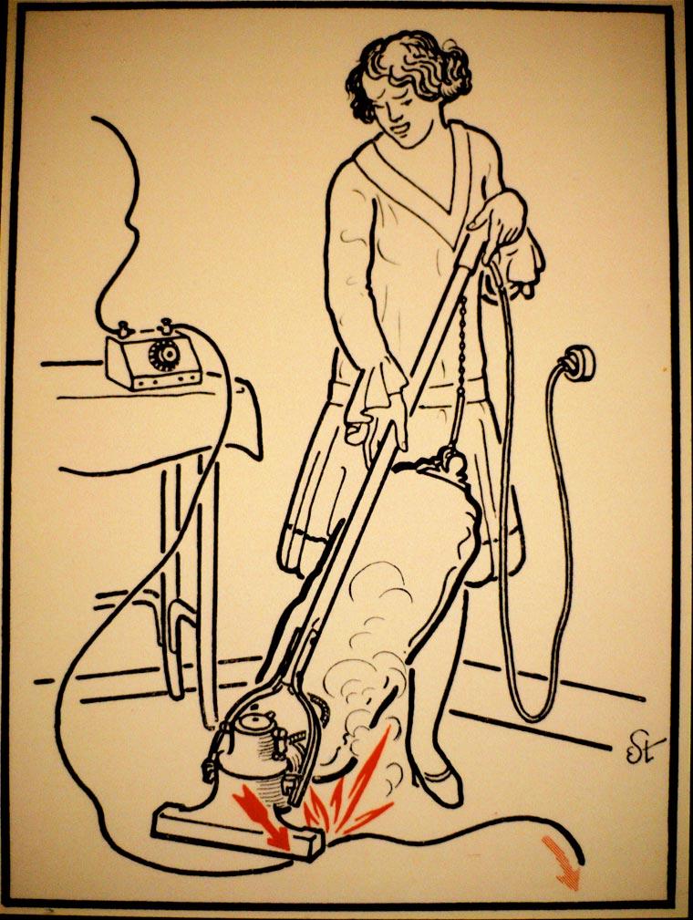 плакат, удар током, иллюстрации, фото № 11