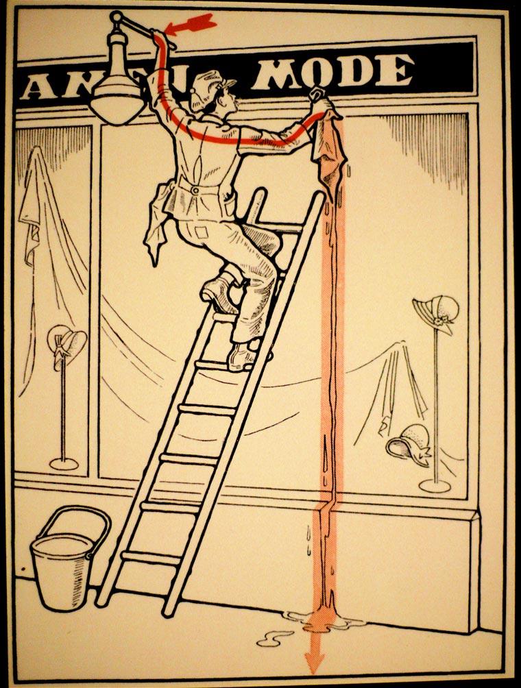 плакат, удар током, иллюстрации, фото № 17