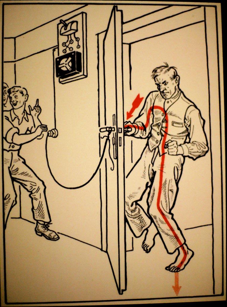 плакат, удар током, иллюстрации, фото № 22