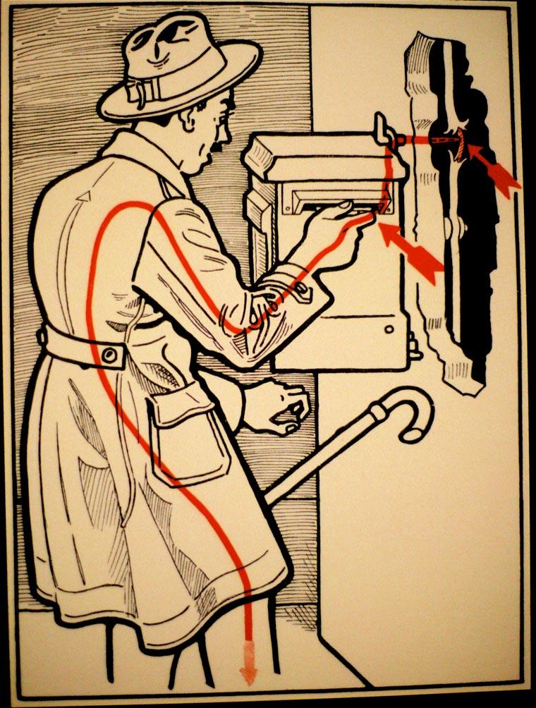 плакат, удар током, иллюстрации, фото № 24