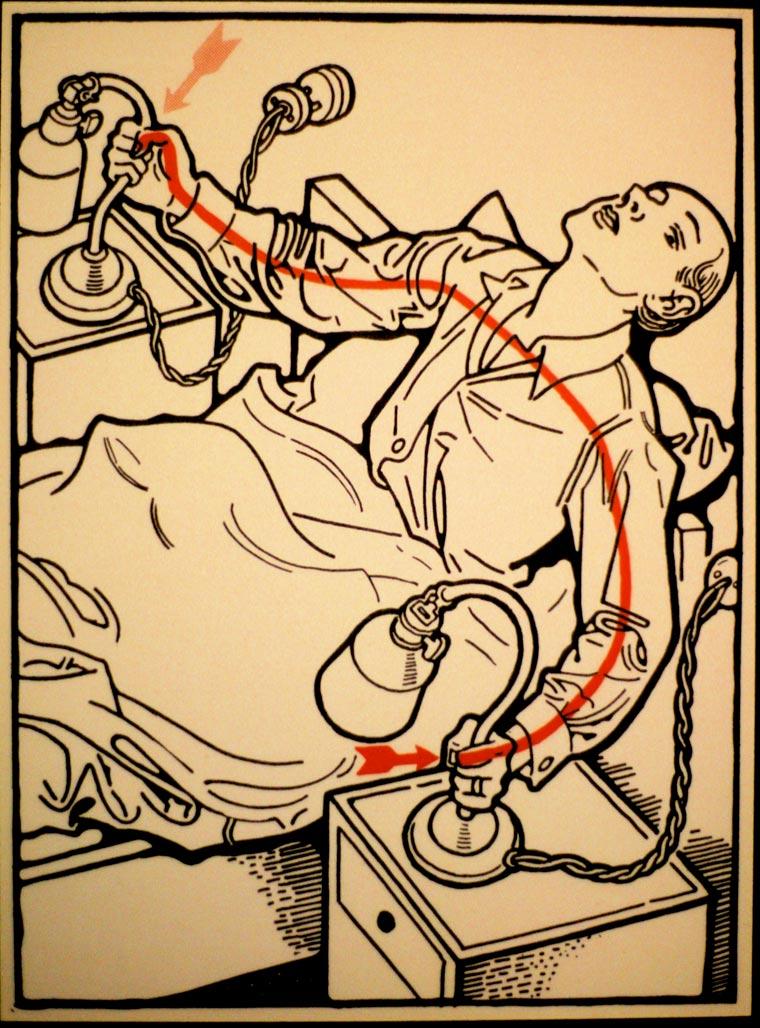 плакат, удар током, иллюстрации, фото № 27