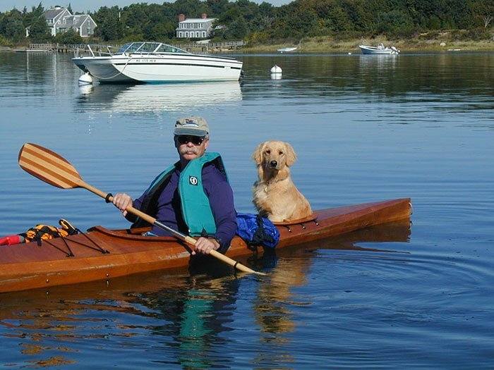 путешествие на байдарке с собаками-5