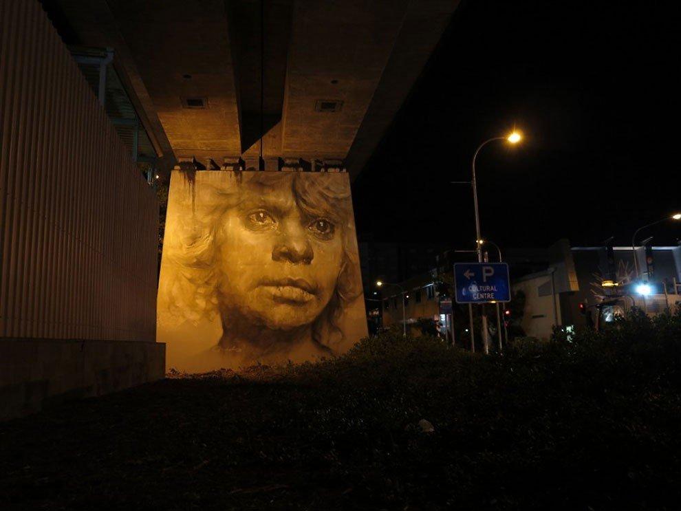 рисунки на домах, графити-14